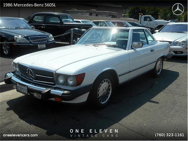 1986 Mercedes-Benz 560SL | 677393