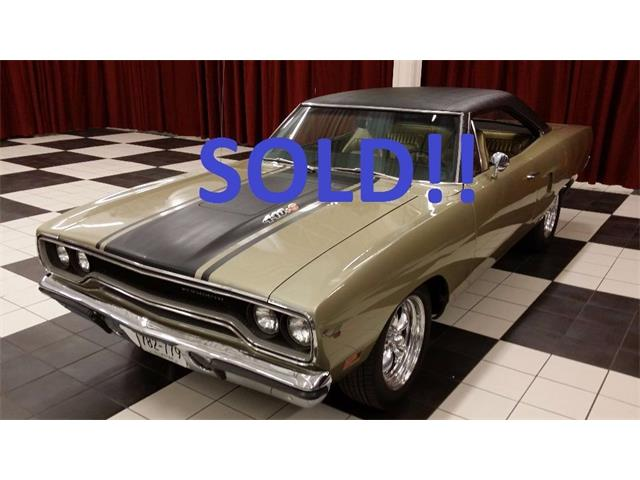 1970 PLYMOUTH ROAD RUNNER SOLD | 679429