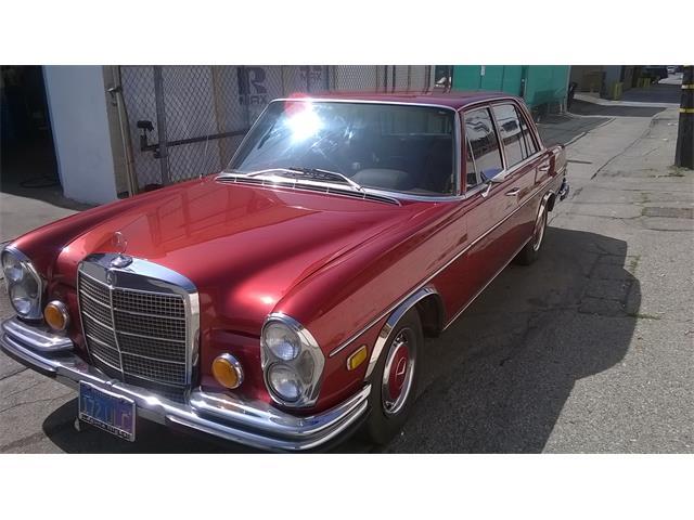 1973 mercedes benz 280se for sale cc for Mercedes benz service santa monica