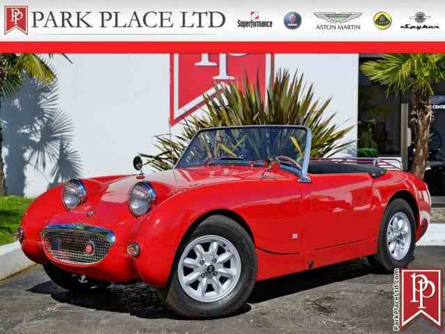 1961 to 1963 AustinHealey Sprite for Sale on ClassicCarscom  2
