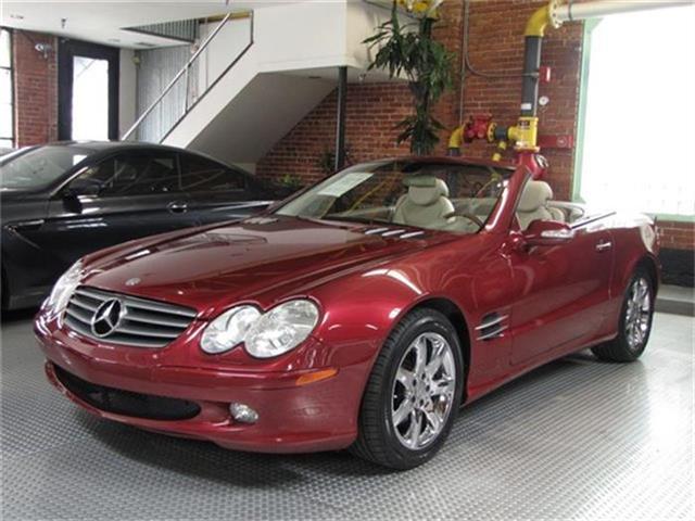 2003 Mercedes-Benz SL-Class | 687285
