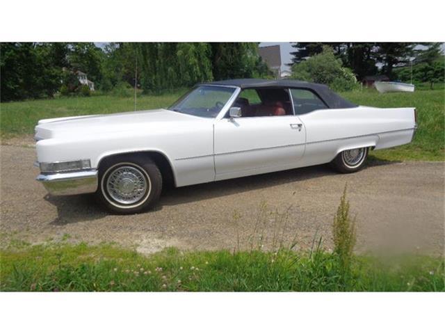 1969 Cadillac 2-Dr Convertible | 687525