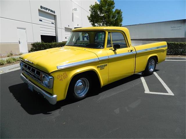 1968 Dodge D100 | 688604