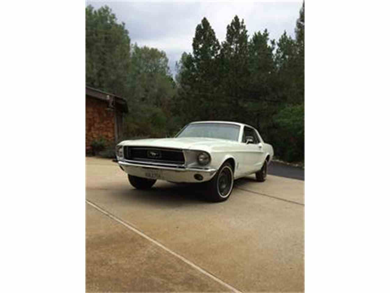 Large Picture of '68 Mustang - ESD4