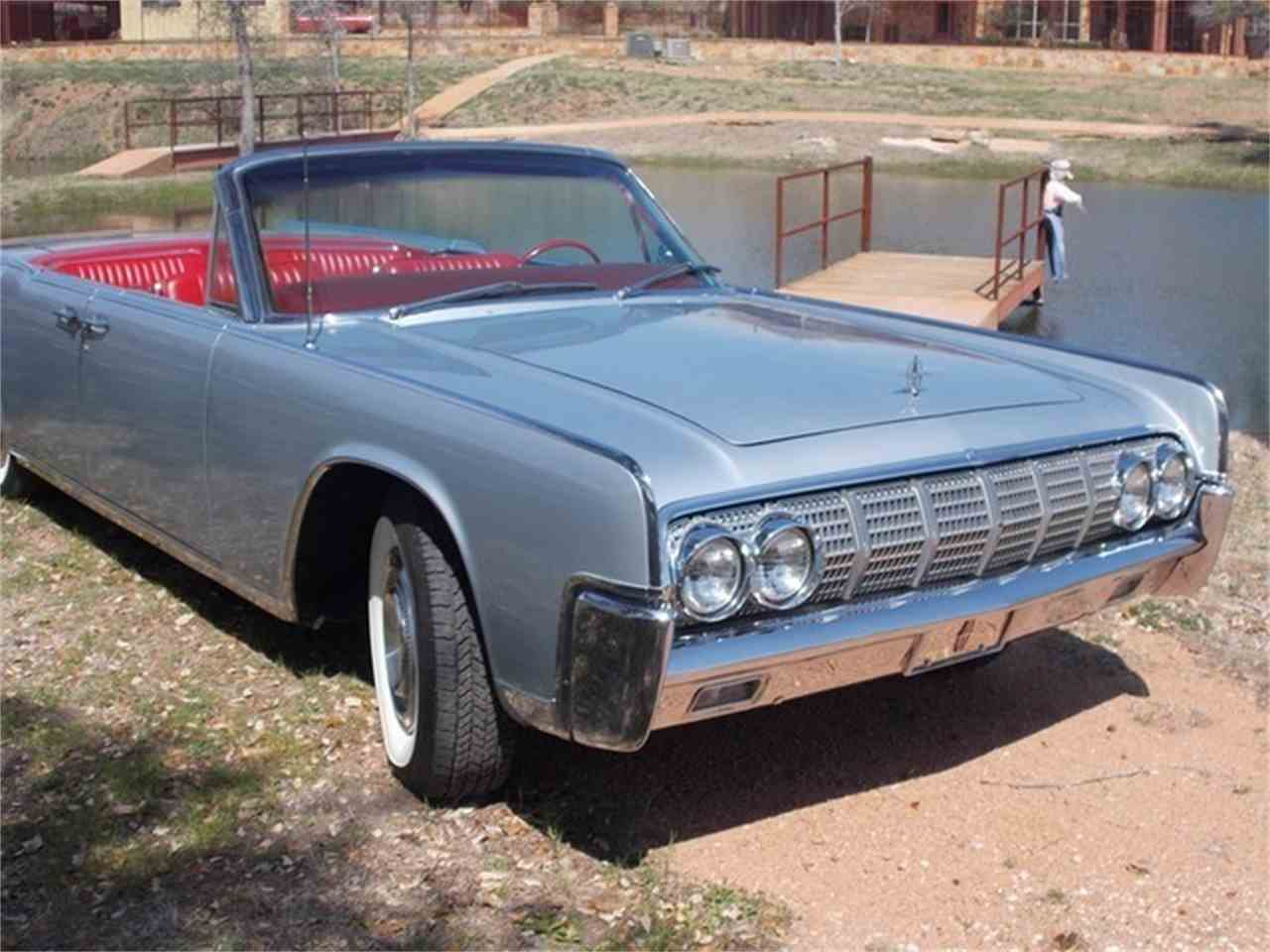 1964 lincoln continental 4 dr convertible for sale cc 691092. Black Bedroom Furniture Sets. Home Design Ideas