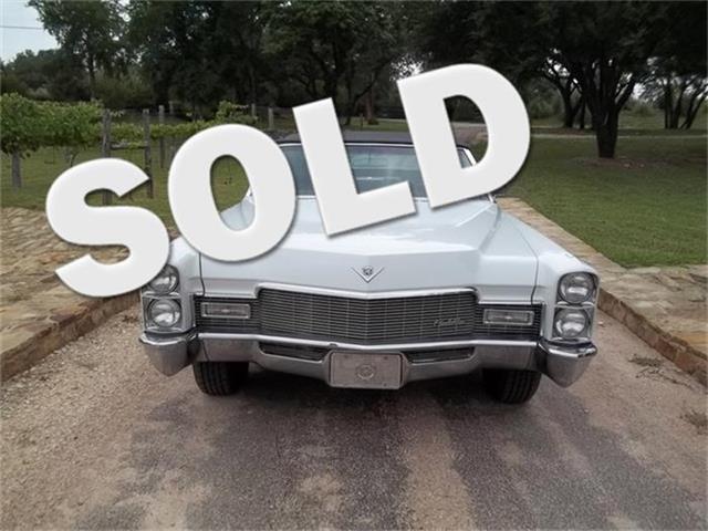 1968 Cadillac Sedan DeVille | 691103