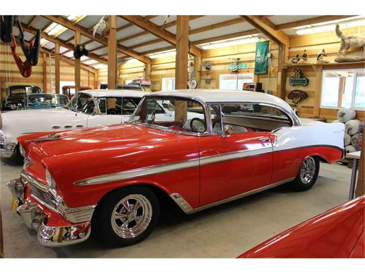 1956 chevrolet bel air for sale classic car liquidators - 1956 Chevrolet Bel Air For Sale Cc 691323