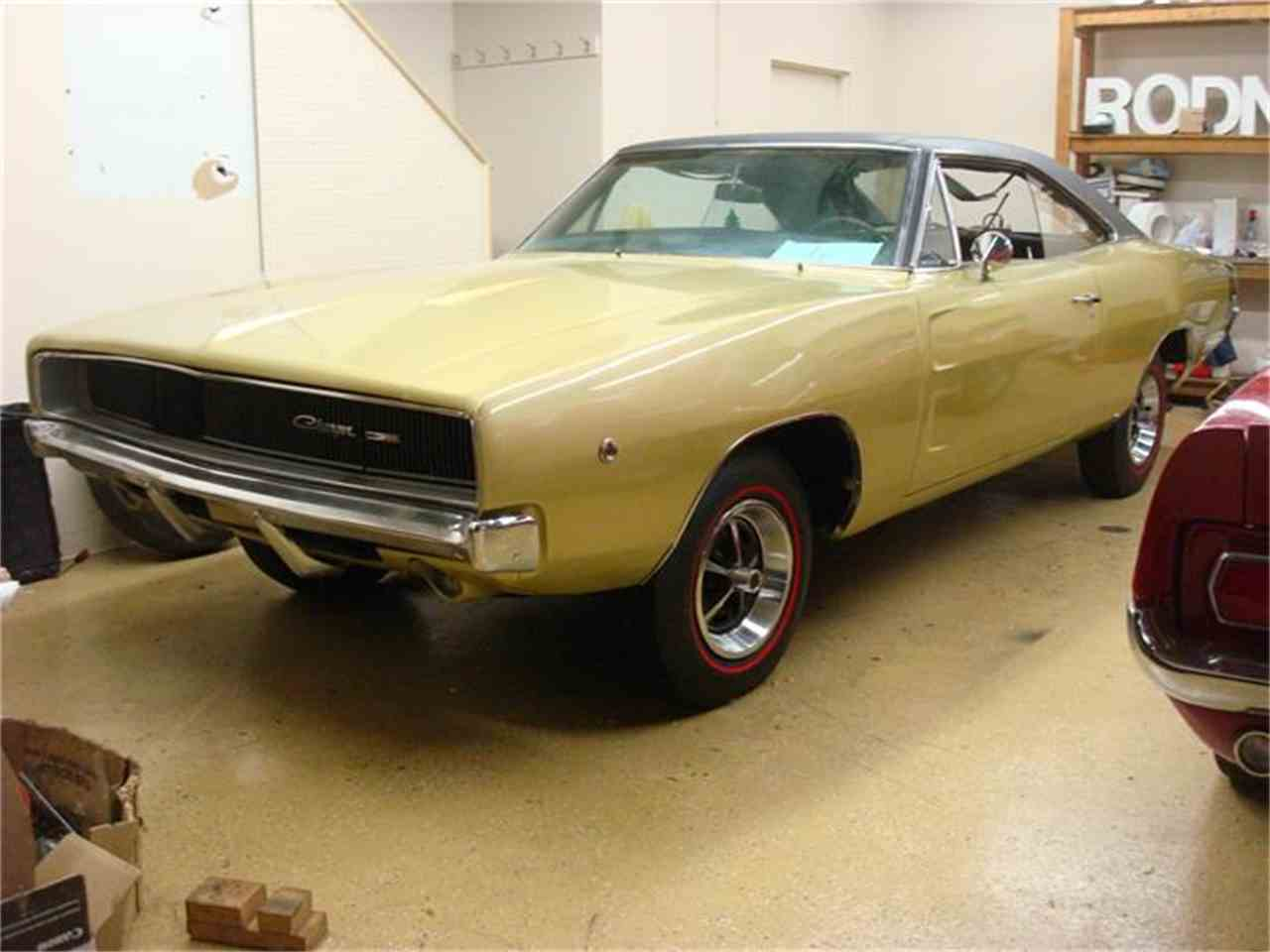1968 dodge charger for sale cc 692067. Black Bedroom Furniture Sets. Home Design Ideas