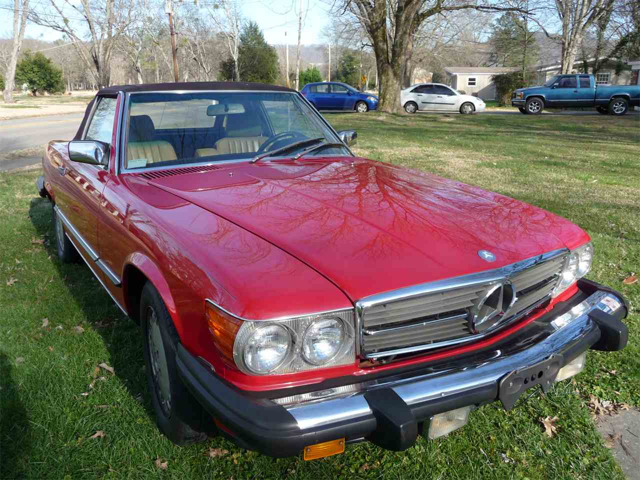 1989 mercedes benz 560sl for sale cc for Mercedes benz huntsville