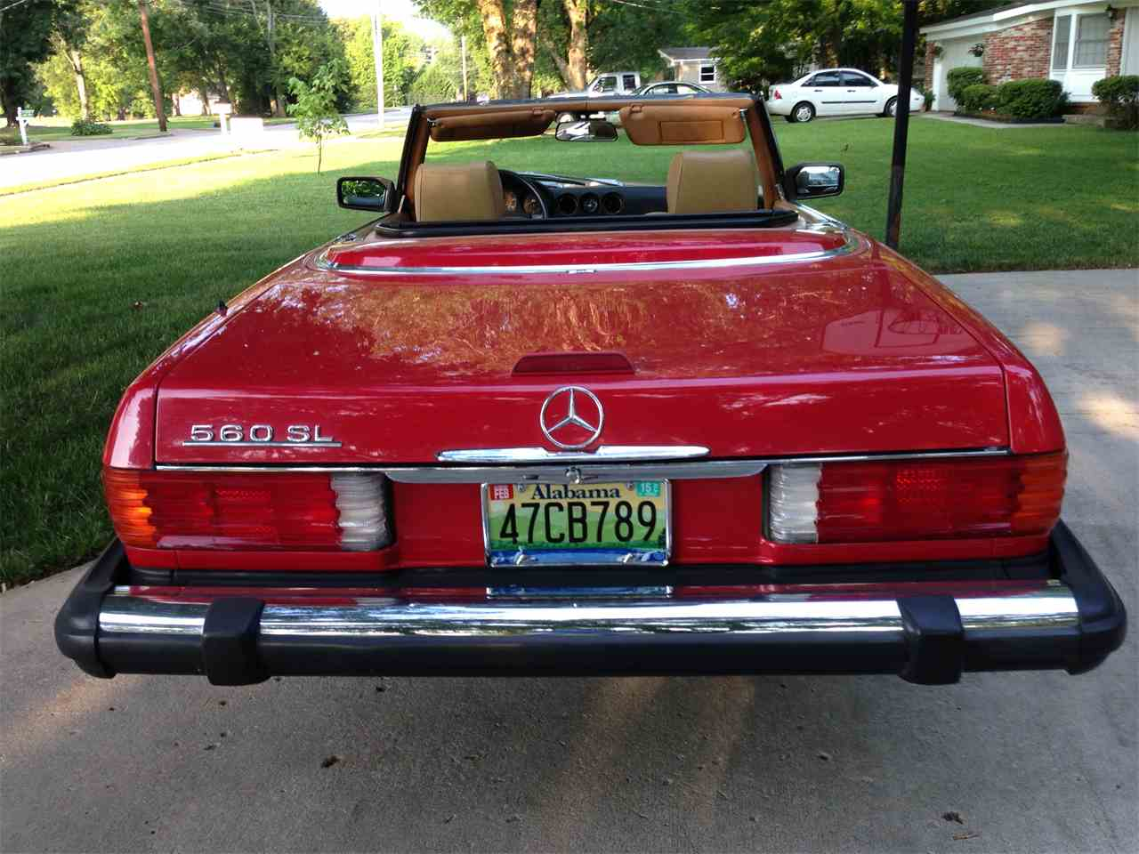 1989 mercedes benz 560sl for sale cc for Mercedes benz huntsville al