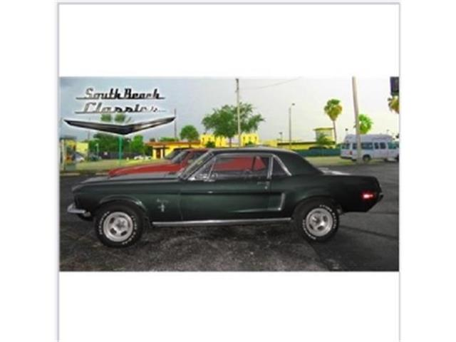 1968 Ford Mustang   695040