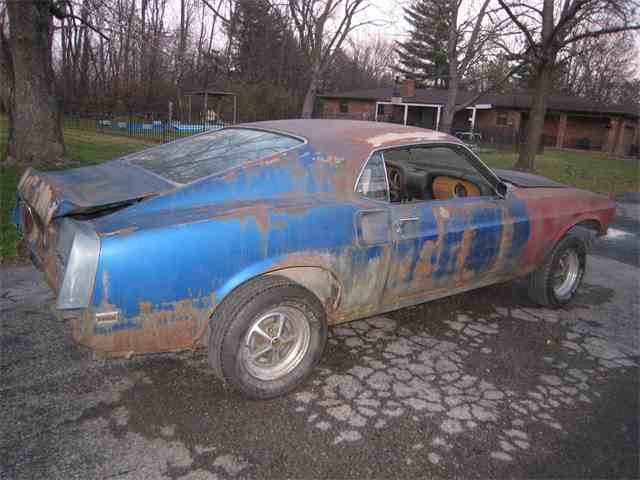 1969 Ford Mustang   695328