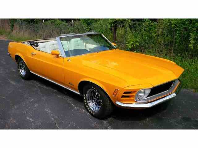 1970 Ford Mustang   695332