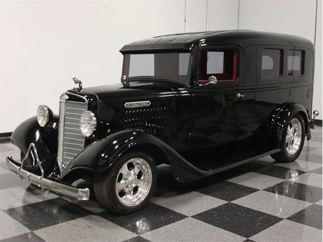 1935 International C-1 De Luxe  Flower Wagon | 696826