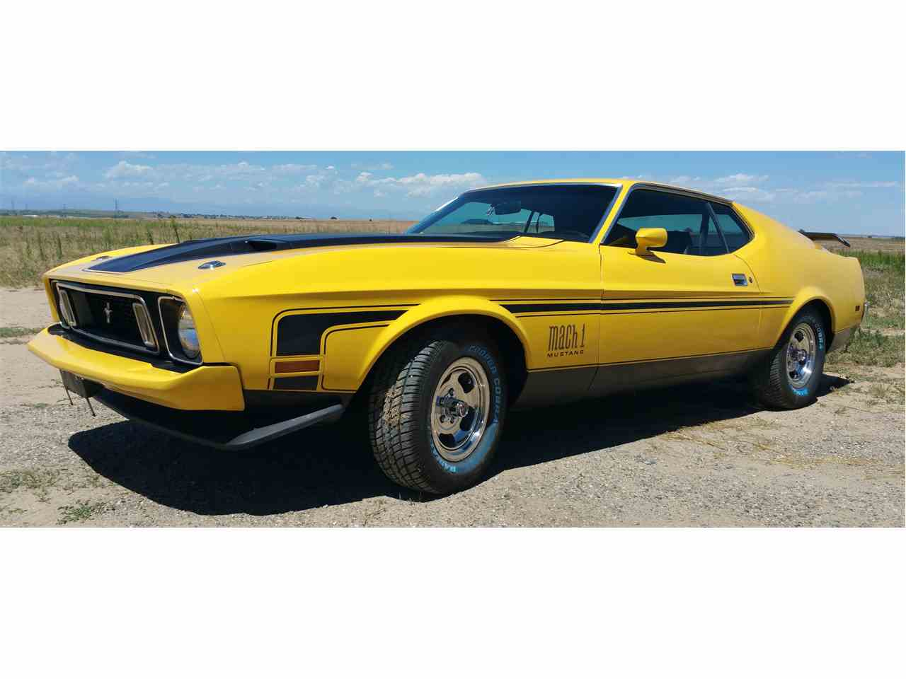 1973 Ford Mustang Mach 1 for Sale  ClassicCarscom  CC701122
