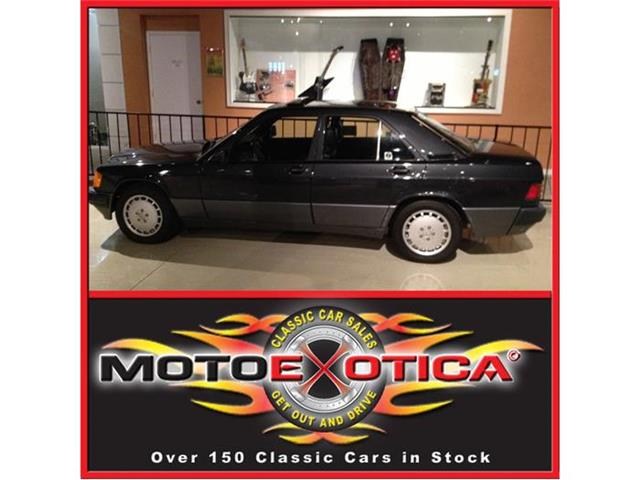 1992 Mercedes-Benz 190E   701694