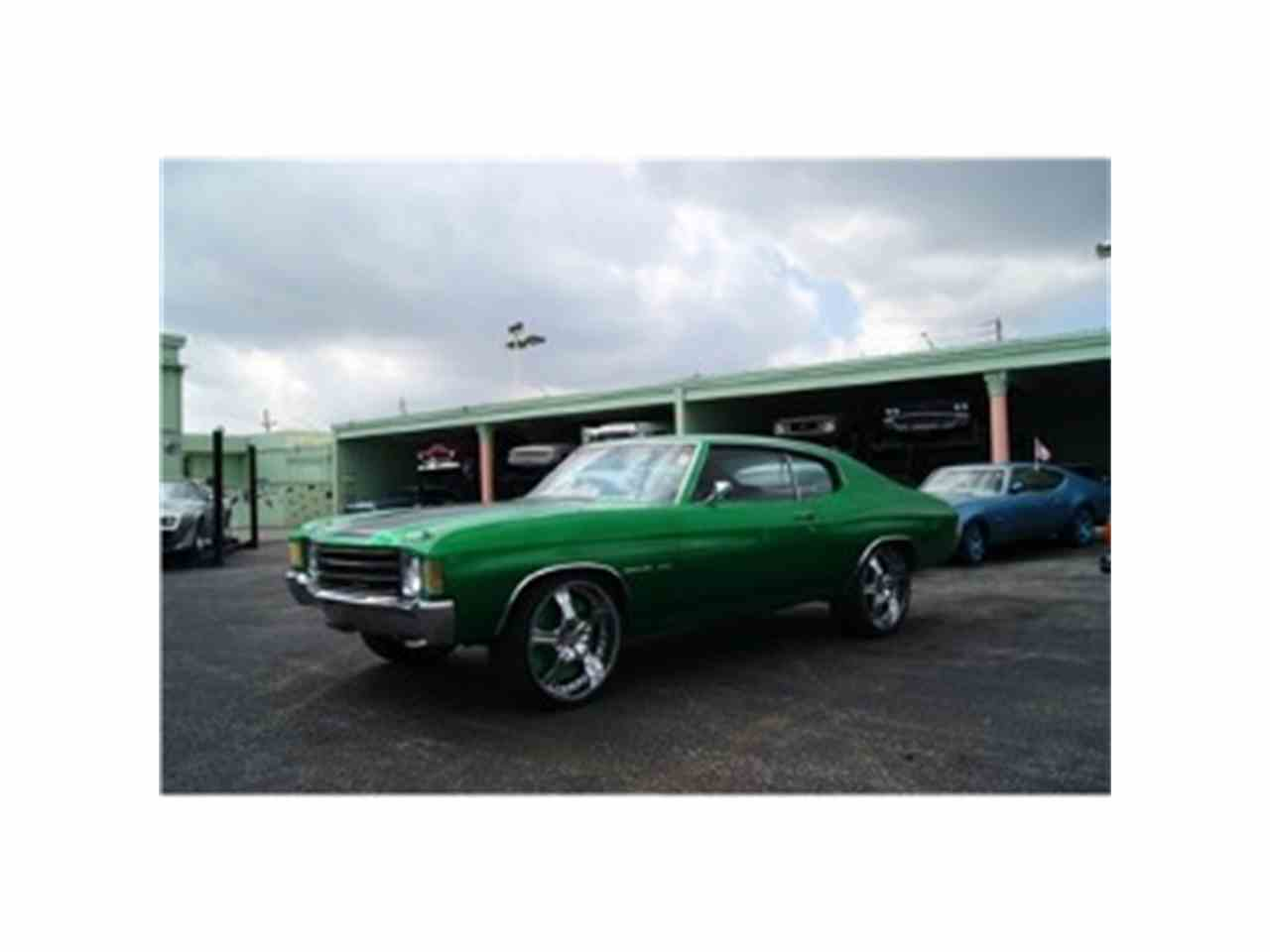Large Picture of 1972 Chevrolet Chevelle located in Florida Offered by Sobe Classics - F2EC
