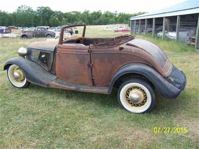 1934 Ford Cabriolet | 703166