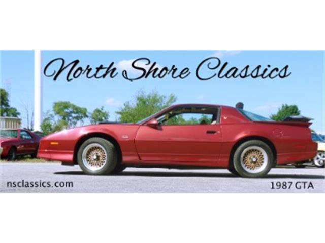 1987 Pontiac Firebird Trans Am GTA | 703369