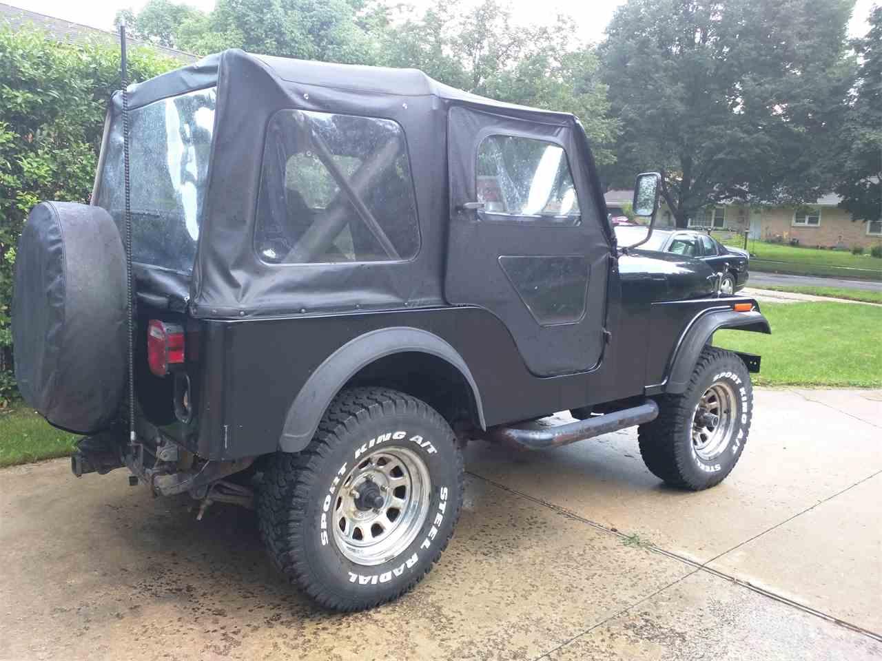 1982 jeep cj5 for sale cc 704653. Black Bedroom Furniture Sets. Home Design Ideas