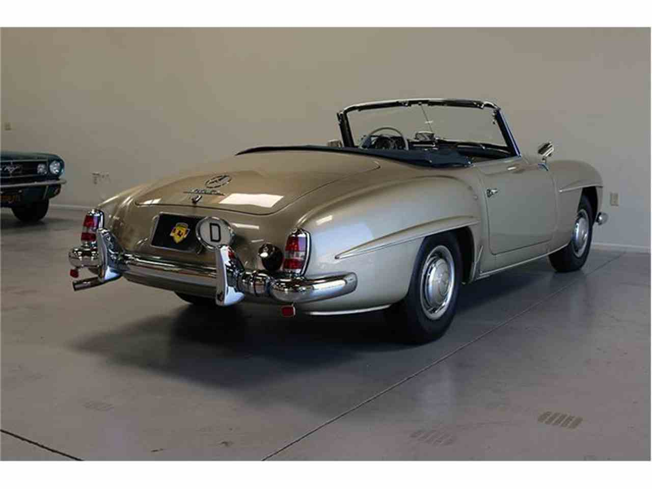 1958 mercedes benz 190sl for sale cc for Mercedes benz 190 sl for sale