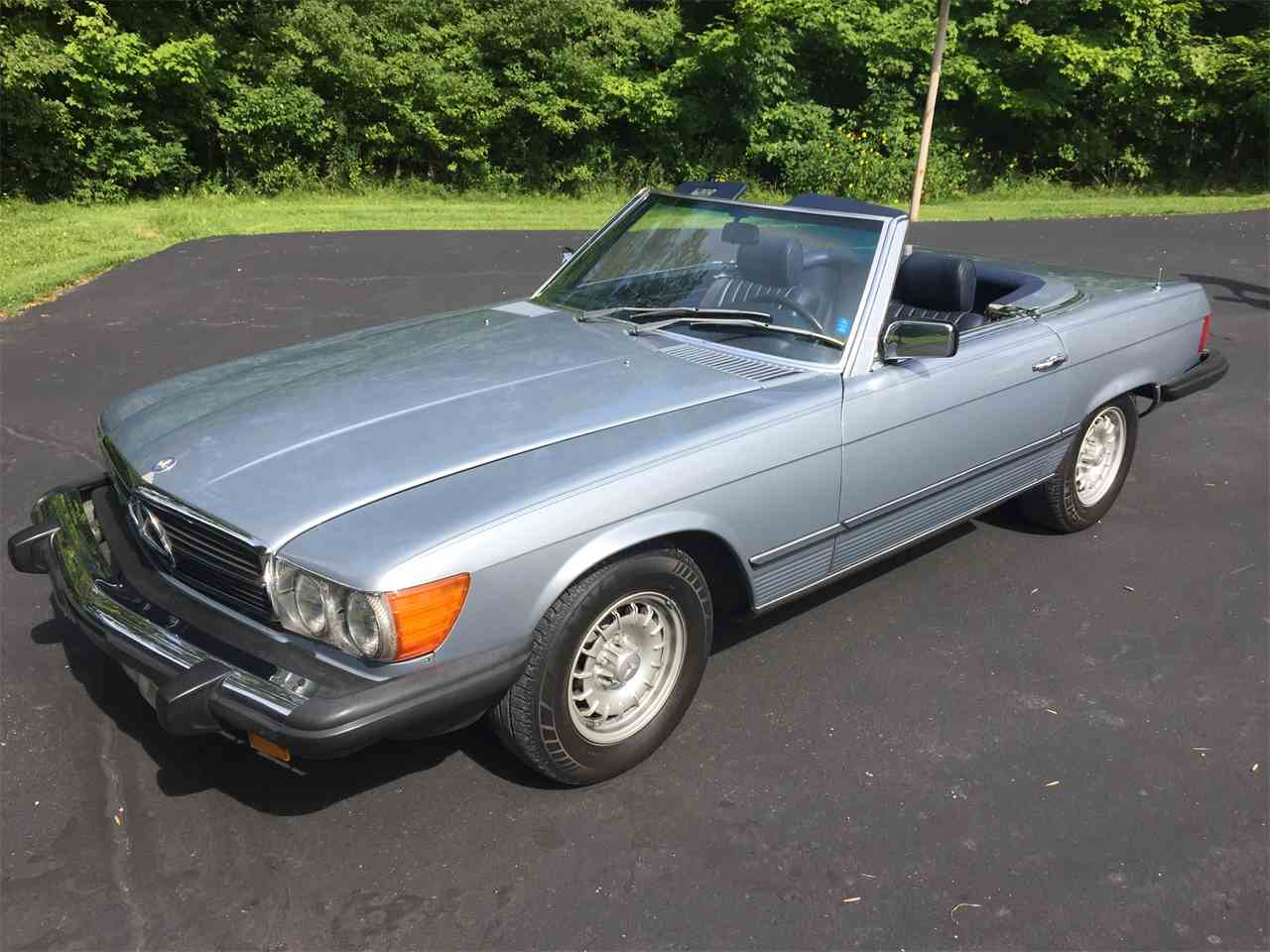 1981 mercedes benz 380sl for sale cc for Mercedes benz indiana