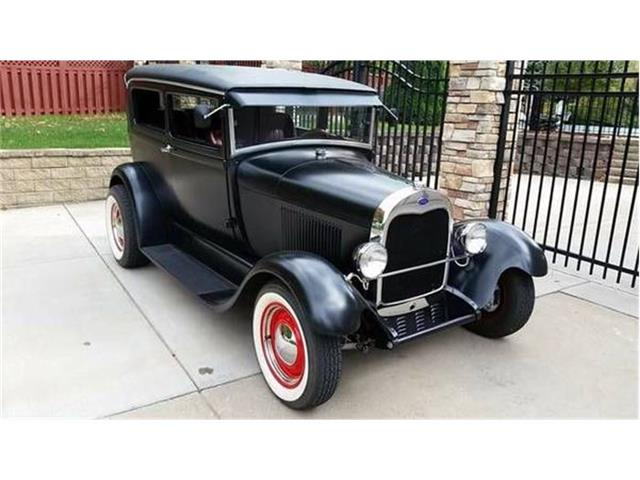 1929 FORD MODEL A CUSTOM HOT ROD | 706325