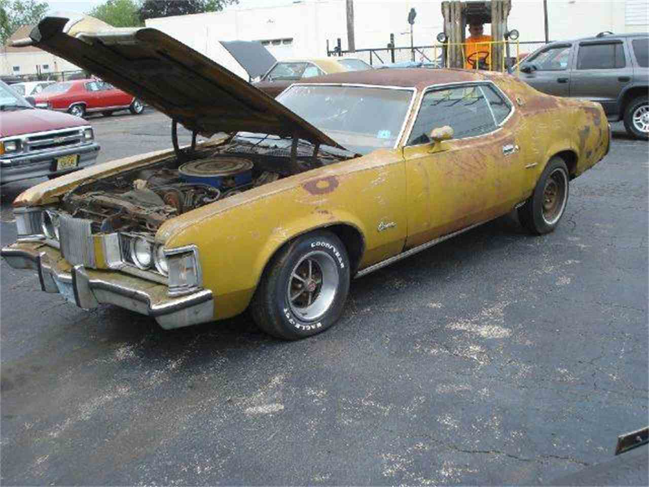 1972 mercury cougar for sale cc 706451. Black Bedroom Furniture Sets. Home Design Ideas