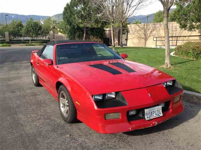 1989 chevrolet camaro for sale on classiccars - 14 available