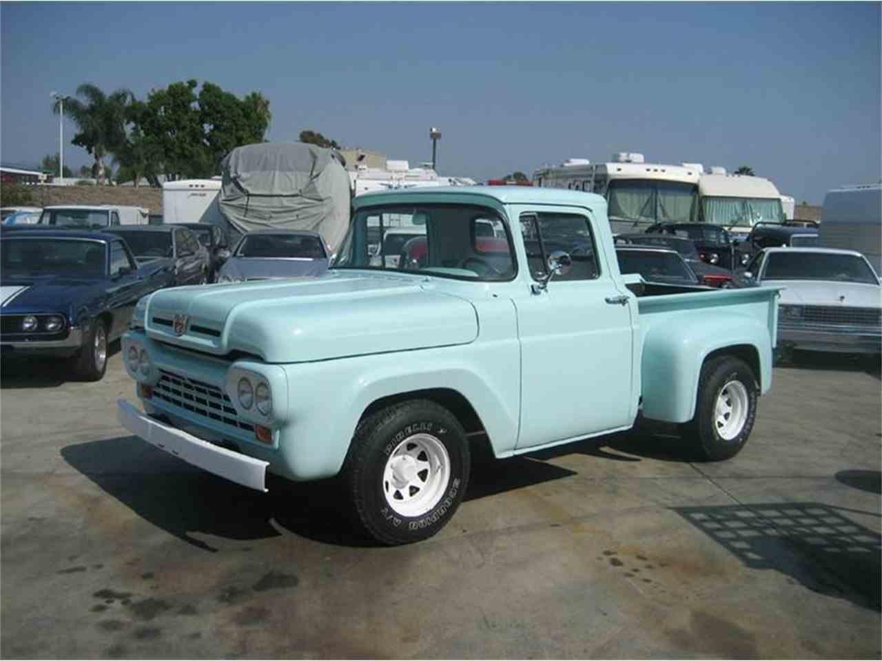 1960 ford f100 for sale cc 708566. Black Bedroom Furniture Sets. Home Design Ideas