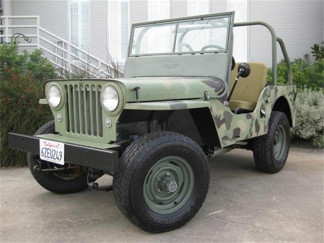 1948 Willys CJ2A | 709039