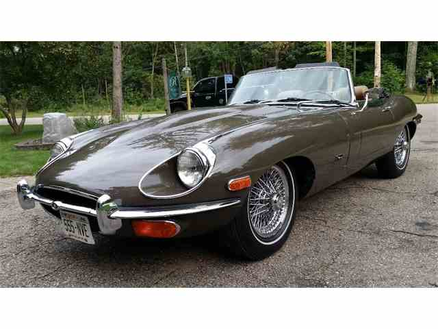 1971 JAGUAR E TYPE OPEN 2 SEATER | 709109