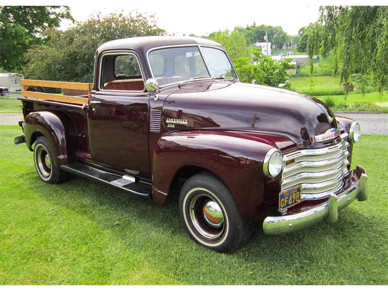 1950 chevrolet 3100 for sale cc 709907. Black Bedroom Furniture Sets. Home Design Ideas