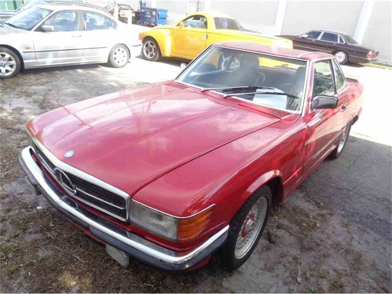 1986 mercedes benz 560 for sale cc 709955 for Mercedes benz for sale in florida