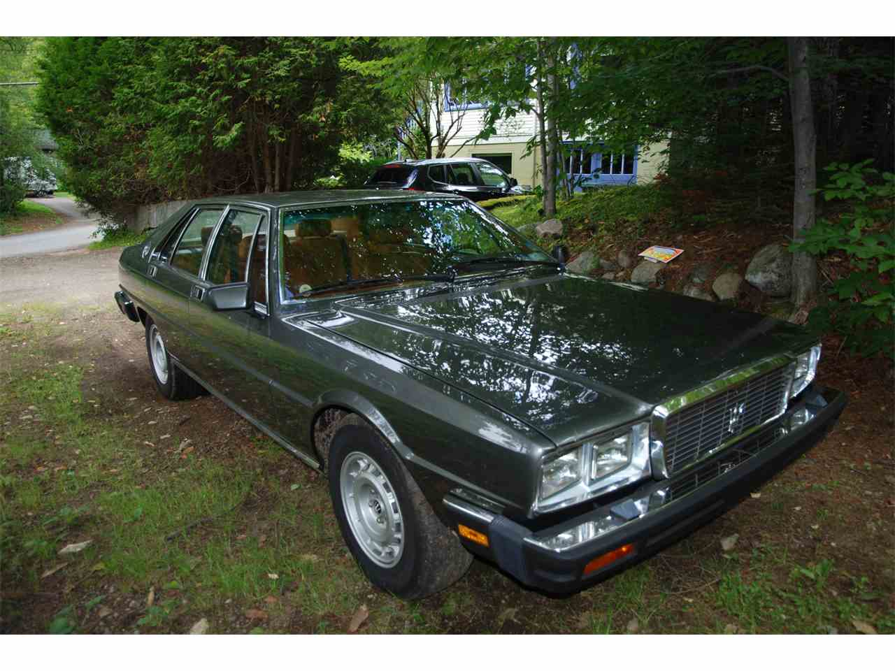 Large Picture of '85 Quattroporte - F8NV