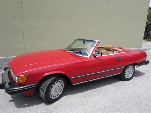1986 Mercedes-Benz 560SL | 711416
