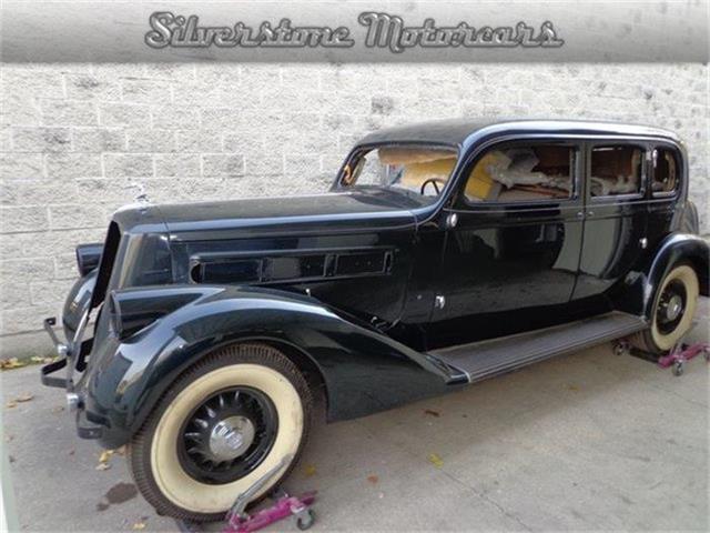 1936 Pierce-Arrow Twelve 5 Passenger Sedan | 711460