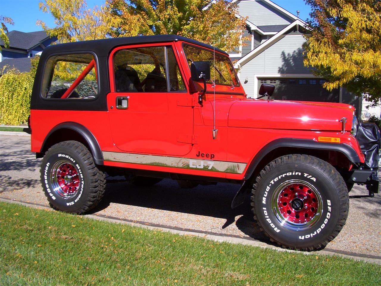 1986 jeep cj7 for sale cc 711900. Black Bedroom Furniture Sets. Home Design Ideas