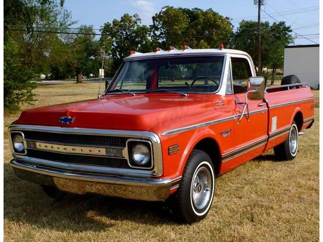 1969 CHEVROLET PICKUP OTHER CST10 CUSTOM CAMPER | 713420