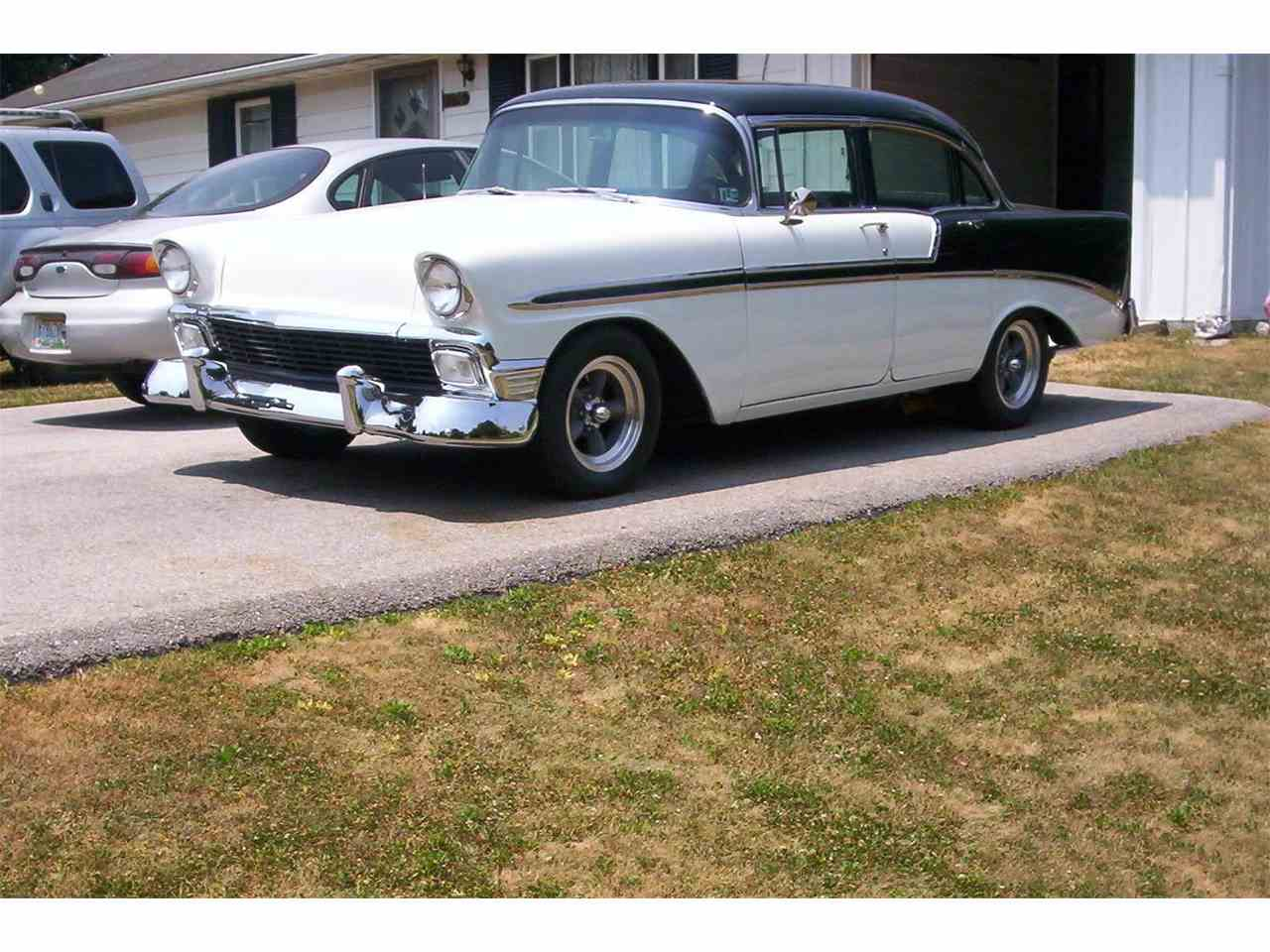 1956 chevrolet bel air for sale classic car liquidators - 1956 Chevrolet Bel Air For Sale Cc 713572