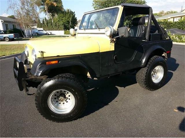 1977 Jeep CJ5   715165