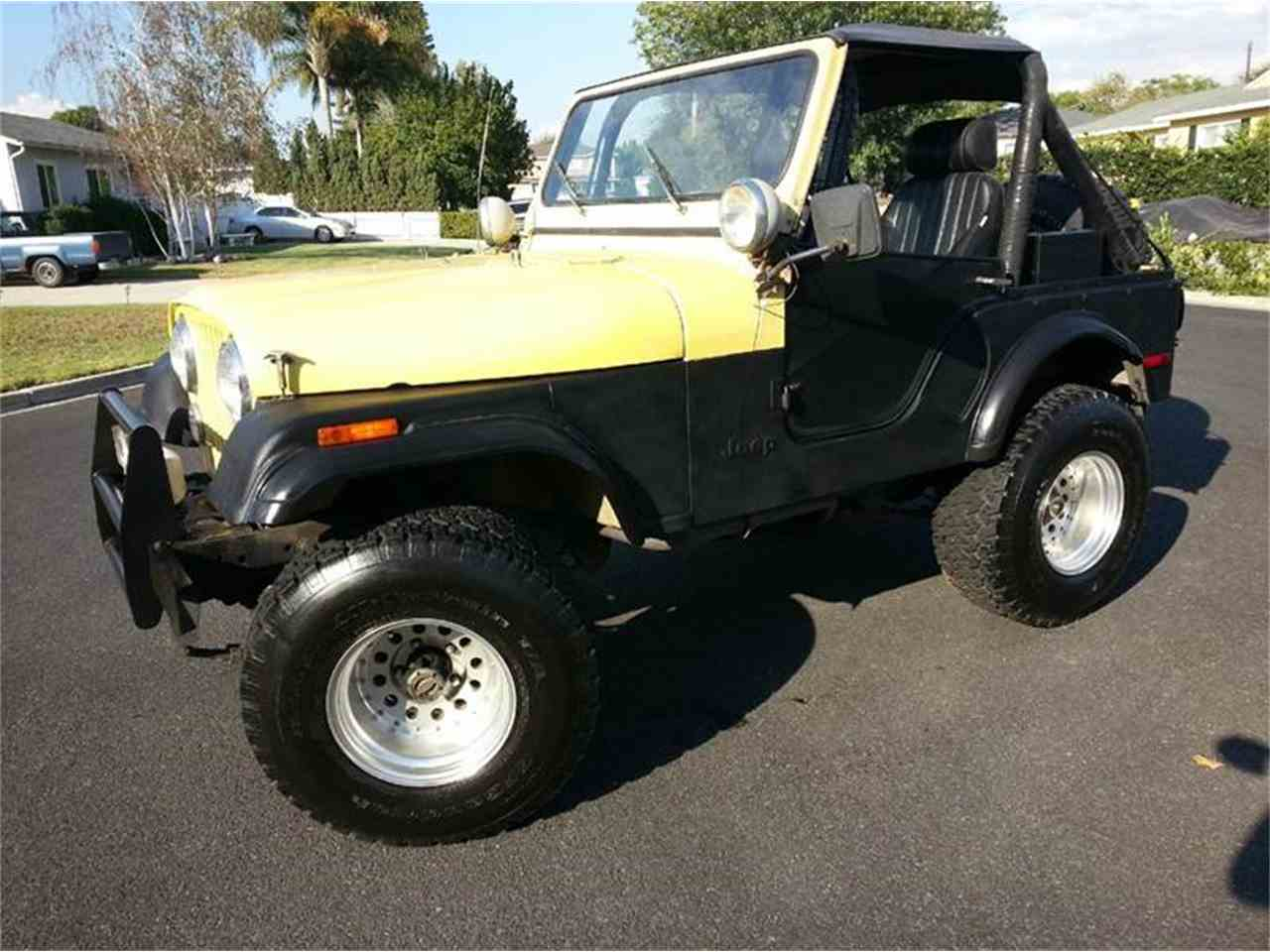 1977 jeep cj5 for sale cc 715165. Black Bedroom Furniture Sets. Home Design Ideas