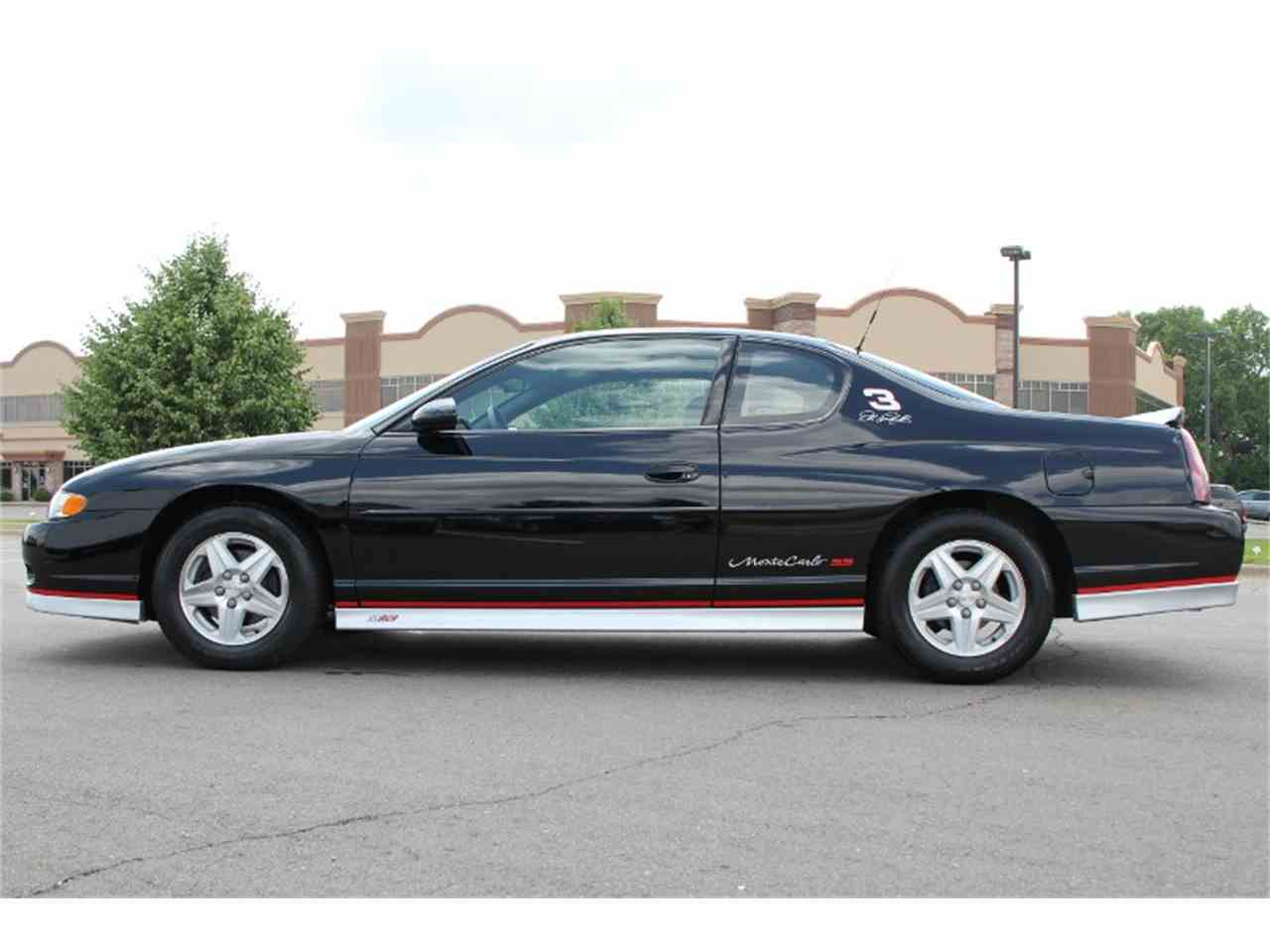 2002 chevrolet monte carlo ss for sale cc 715316. Black Bedroom Furniture Sets. Home Design Ideas