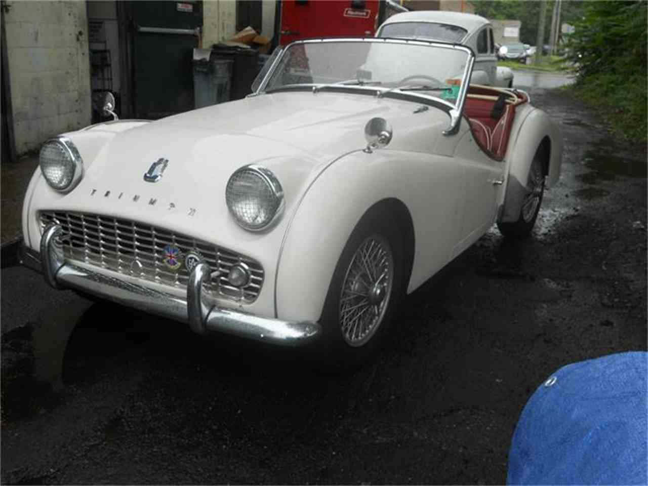 Large Picture of '62 TR3A - FCIC