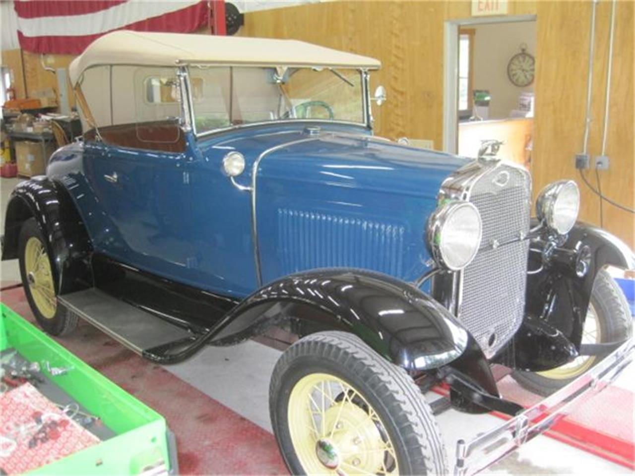 1931 ford model a for sale cc 716076 for Classic motor cars of ellington