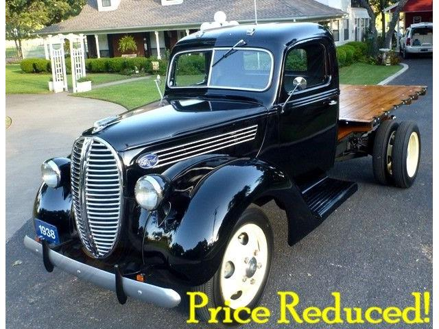1938 FORD PICKUP OTHER ONE TONNER FLATBED | 719234