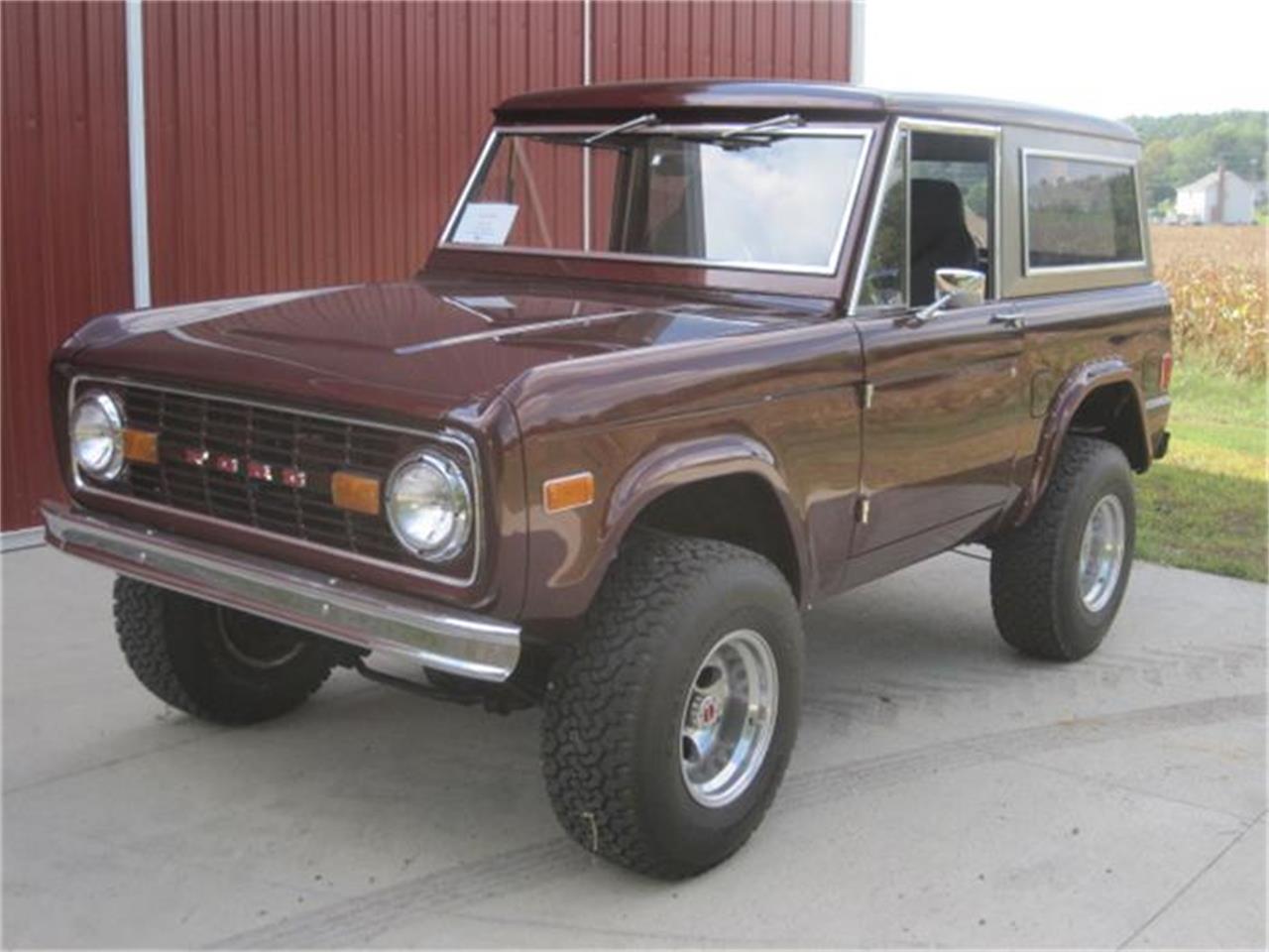 1977 ford bronco for sale cc 719304. Black Bedroom Furniture Sets. Home Design Ideas