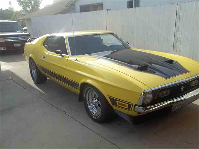 1971 Ford Mustang Mach 1 | 719384