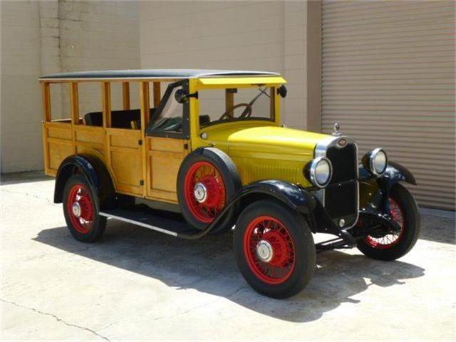 1928 Chevrolet Woody Wagon   721010