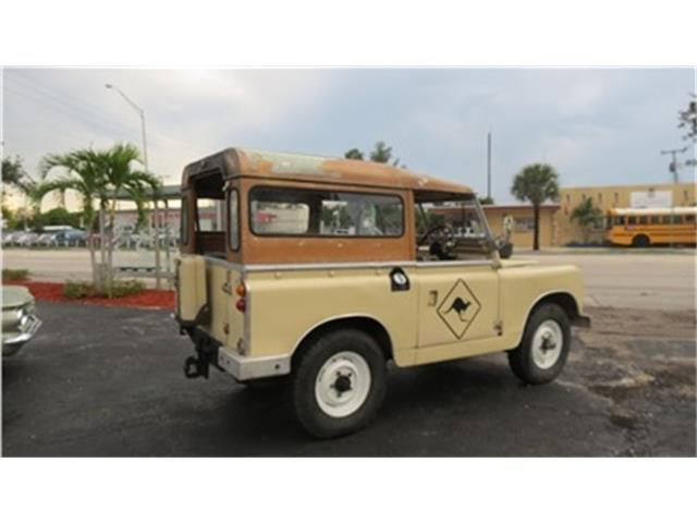 1968 Land Rover Series II 88 | 721400